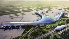 A model of Long Thanh International Airport in the southern province of Dong Nai. More than 15,000 residents will be affected by the airport project. (Photo: baochinhphu)