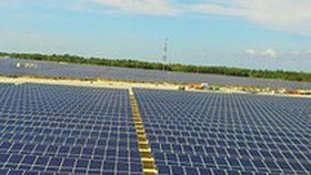 One more solar power plant inaugurated in central Vietnam