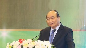 Prime Minister Nguyen Xuan Phuc speaks at the event (Source: VNA)