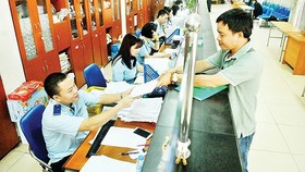 The customs division at Cat Lai seaport (Photo: SGGP)