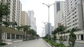 A resettlement apartment block in Thu Thiem new urban area (Photo: SGGP)