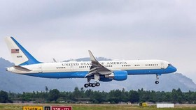A C-32 lands in Da Nang Airport (Illustrative photo)