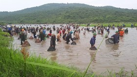 Thousands of people attend fishing festival in Ha Tinh province