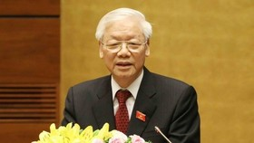 Party General Secretary and State President Nguyen Phu Trong (Photo: VNA)