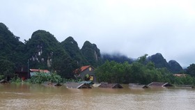 A corner of Tan Hoa commune, Minh Hoa district