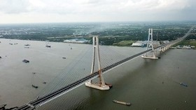 Vam Cong bridge was open to traffic in the Mekong Delta in May 2019 (Illustrative photo: SGGP)