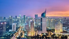A corner of Jakarta capital (Source: Asialink)