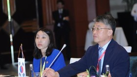 RoK delegates at the10th ASEAN-RoK Transport Ministers Meeting  (Source: VNA)