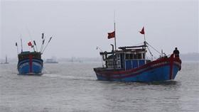 Vietnamese fishing boats - Illustrative image (Photo: VNA)