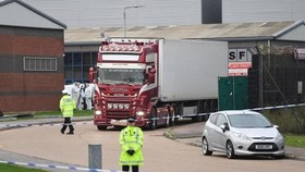 The lorry in which bodies of 39 Vietnamese people were found in October 2019 (Photo: braintreeandwithamtimes.co.uk)