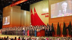 The 13th Party Central Committee (Photo: VNA)