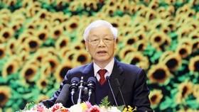 Giáo sư, Tiến sĩ Nguyễn Phú Trọng, Tổng Bí thư Ban Chấp hành Trung ương Đảng Cộng sản Việt Nam. Ảnh: VIẾT CHUNG