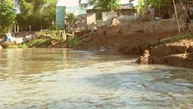 ĐBSCL: Lại xảy ra sạt lở bờ sông