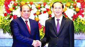Đưa kim ngạch thương mại song phương Việt Nam - Ai Cập đạt 1 tỷ USD