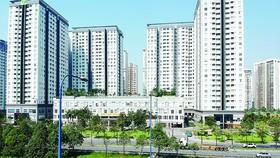 Một cao ốc bên đường Mai Chí Thọ, quận 2, TPHCM  Ảnh: CAO THĂNG