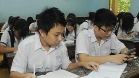 Học sinh được đăng ký 3 nguyện vọng để xét tuyển vào lớp 10 các trường trung học phổ thông công lập