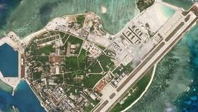 Đảo Phú Lâm, thuộc quần đảo Hoàng Sa của Việt Nam do Trung Quốc chiếm đóng trái phép. Ảnh: REUTERS