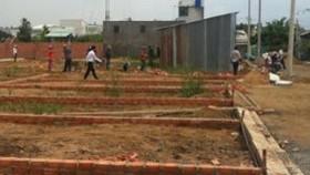 Công khai 10 khu đất phân lô bán nền, xây dựng trái phép tại phường Thạnh Xuân, quận 12