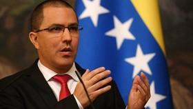 Bộ trưởng Ngoại giao Venezuela Jorge Arreaza. Ảnh: eluniversal