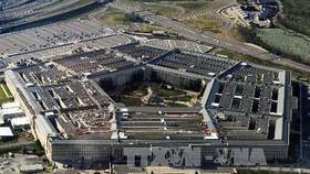 Toàn cảnh tòa nhà Lầu Năm góc, trụ sở Bộ Quốc phòng Mỹ ở Washington, DC. Ảnh: AFP/TTXVN