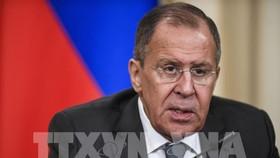 Ngoại trưởng Nga Sergei Lavrov. Ảnh: AFP/TTXVN