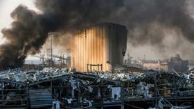 Vụ nổ kinh hoàng tại cảng Beirut. Ảnh: AFP