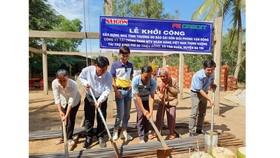Báo SGGP khởi công xây nhà đại đoàn kết tại Bến Tre