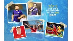 Hôm nay, Gala trao Giải thưởng Quả bóng vàng Việt Nam 2020 - Đêm tôn vinh tài năng