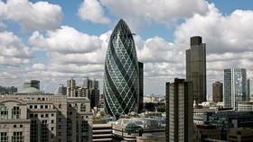 Một góc Trung tâm Tài chính London