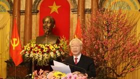 Lời chúc tết Xuân Tân Sửu - 2021 của đồng chí Tổng Bí thư, Chủ tịch nước Nguyễn Phú Trọng