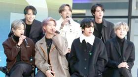 BTS - Nghệ sĩ thu âm toàn cầu năm 2020