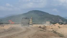 Phú Yên: Doanh nghiệp vi phạm hàng loạt quy định về khai thác cát