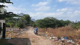 Dự án Khu phức hợp tại quận Bình Thạnh của Công ty TNHH MTV Đầu tư xây dựng Tân Thuận bị bỏ hoang nhiều năm nay