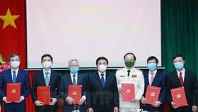 Công bố các quyết định của Bộ Chính trị về công tác cán bộ
