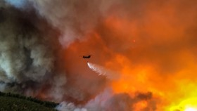 Cháy rừng tại Hy Lạp