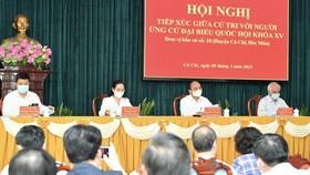 Lịch tiếp xúc cử tri trước kỳ họp thứ 2 - Quốc hội khóa XV