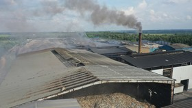 Nhà máy Tâm Sinh Nghĩa - Tây Bắc Củ Chi sử dụng công nghệ đốt rác để xử lý chất thải rắn sinh hoạt hiện nay. Ảnh: HOÀNG HÙNG