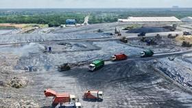 Khu liên hợp xử lý  chất thải rắn  Đa Phước, huyện Bình Chánh,  TPHCM. Ảnh:  HOÀNG HÙNG