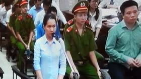 Bị cáo Nguyễn Minh Thu khẳng định từng chi hàng chục tỷ đồng chăm sóc Vietsovpetro