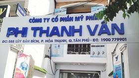 Thu hồi 2 lô mỹ phẩm của Công ty TNHH Mỹ phẩm Phi Thanh Vân