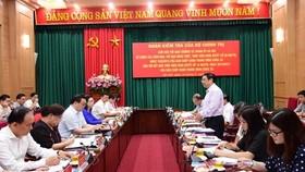 Trung ương kiểm tra công tác cán bộ, đổi mới sắp xếp bộ máy của TP Hà Nội