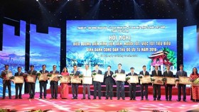 Vinh danh 10 công dân Thủ đô ưu tú năm 2019