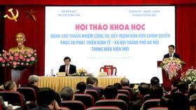 Chủ tịch UBNDTP Hà Nội chỉ rõ nhiều thói hư của cán bộ cấp dưới