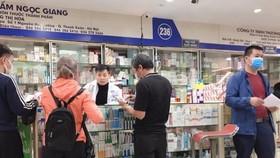 Người có triệu chứng cảm cúm, ho sốt khi mua thuốc phải khai báo về bản thân