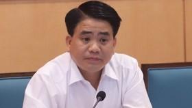 Ông Nguyễn Đức Chung bị tạm đình chỉ nhiệm vụ đại biểu HĐND TP Hà Nội