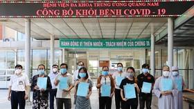 853 bệnh nhân Covid-19 khỏi bệnh, không có ca mắc mới
