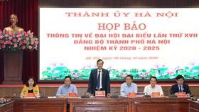 Hà Nội đặt mục tiêu trở thành đô thị xanh, GRDP/người đạt 8.300-8.500 USD