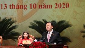 Bế mạc Đại hội Đảng bộ TP Hà Nội lần thứ XVII: yêu cầu người đứng đầu dám nghĩ, dám làm