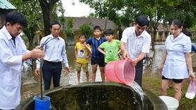 Bộ Y tế cảnh báo nhiều dịch bệnh bùng phát sau mưa lũ