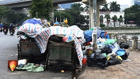 """Bãi rác lớn nhất Hà Nội không còn bị """"phong tỏa"""""""